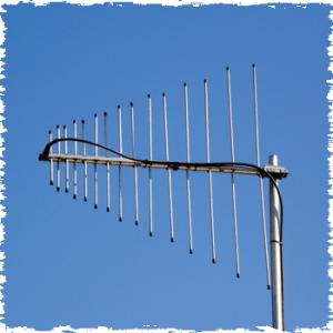 DAB radio aerial