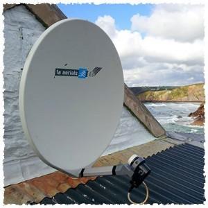 fibreglass satellite dish pembrokeshire