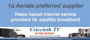 Criccieth TV - satellite broadband