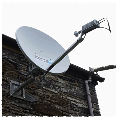 Satellite-broadband