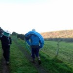 A trek up The Gribbin with new aerial supplies