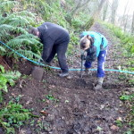 A bit of help from National Trust reps
