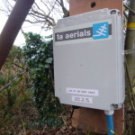 New amplifier housed at the top of The Gribbin