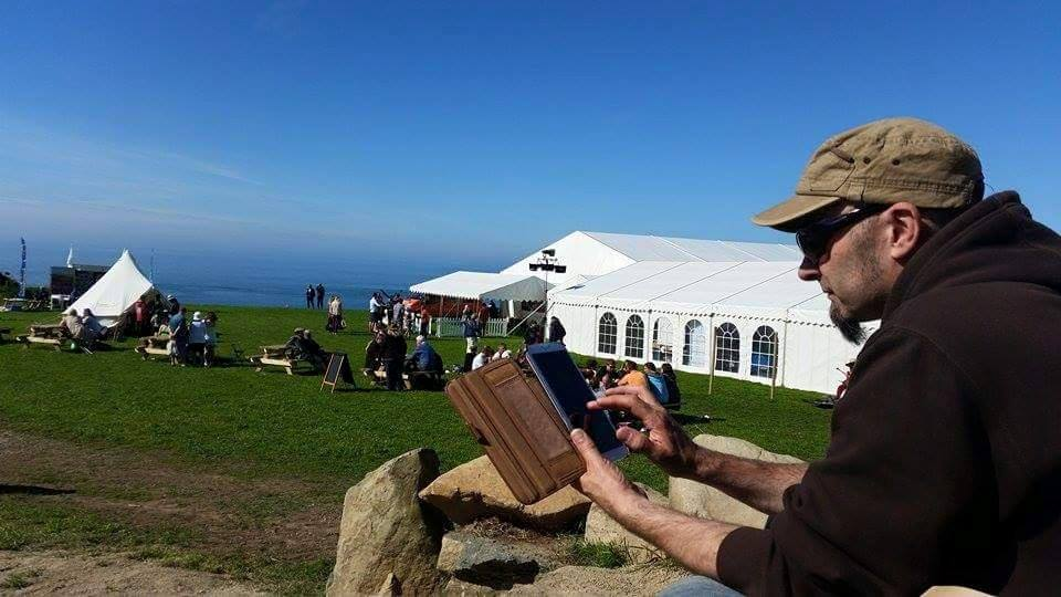 Tablet at RWFest