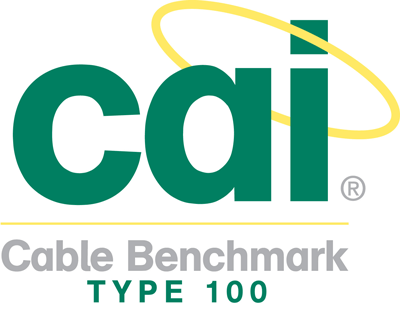 CAI benchmark Type 100 cable
